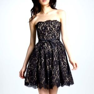 Robert Rodriguez Dress Black Lace Fit and Flare 2